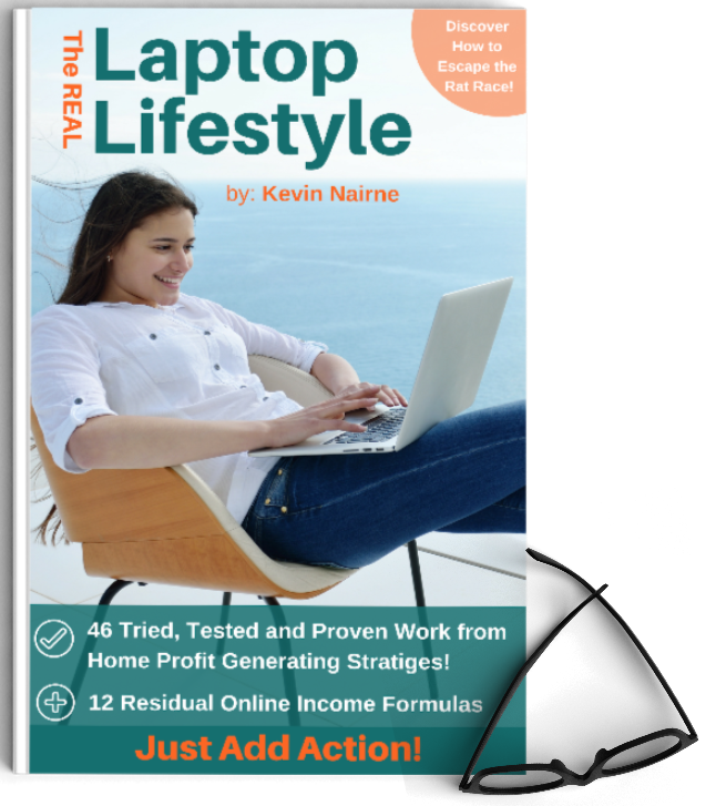 The Real laptop Lifestyle book image